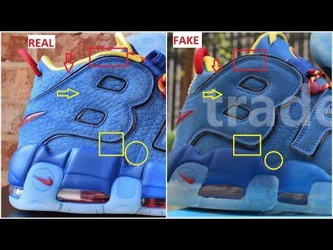 Fake Nike Air More Uptempo Doernbecher Spotted- Quick Tips To identify Them