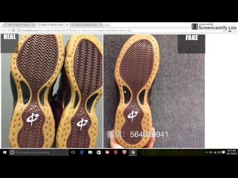 Fake Air Foamposite One Maroon Gum Spotted: Quick Tips To Avoid Them