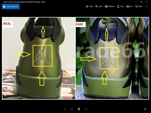 Fake Air Jordan 6 Pinnacle Flight Jacket Spotted- Quick Ways To Identify Them