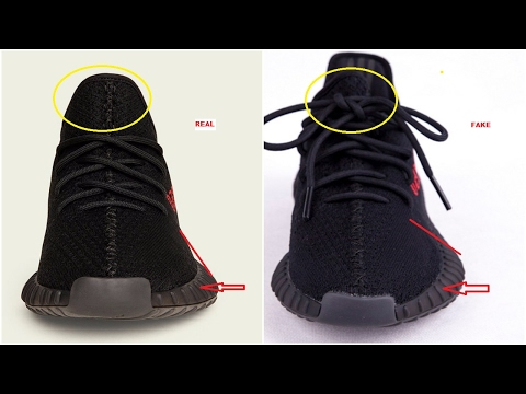 Fake Adidas Yeezy Boost 350 V2 Black Red CP9652 Spotted- Quick Tips To Avoid Them
